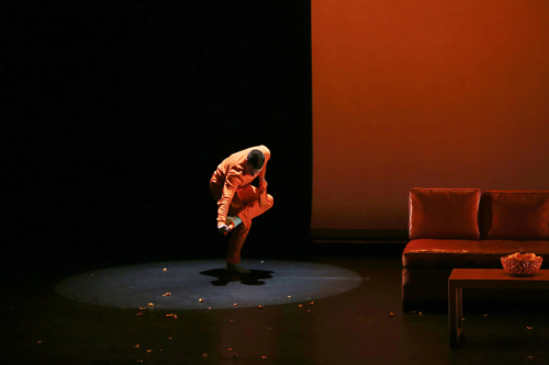 SITRUS SISYPHUS Jack Crystal Theatre Choreographed by Fallon Johnson, Dasol Kim, and Grace Stingle Scenic design by Ana Novacic Costume design by Wang Ying Tu Lighting design by Rachel Fae Szymanski Composed by Nick Stephens and Leah Kennedy